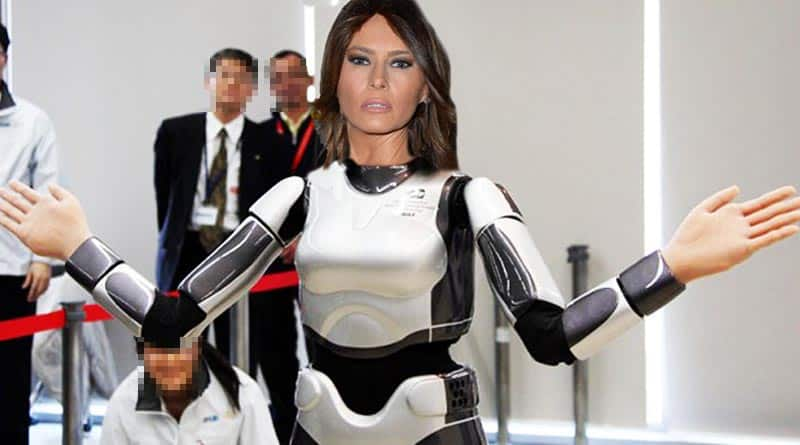 Featured image for Melania Finally Reappears As An Obvious AI Bot