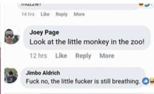 Hateful comments