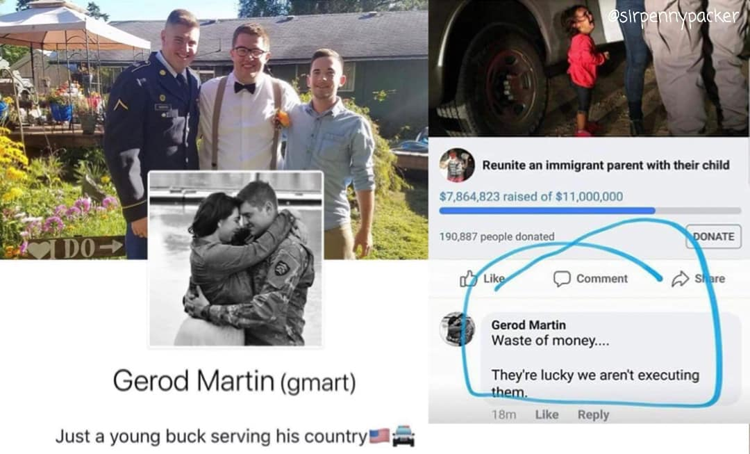 Featured image for These Sickos Left The Most Hateful Comments On Photos Of Locked Up Immigrants