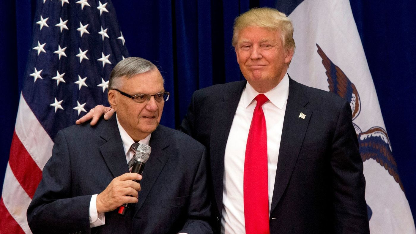Featured image for Anti-Immigrant Ex-Sheriff Joe Arpaio Welcomes The Idea Of Oral Sex With Trump