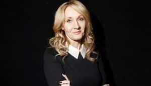 "J.K. Rowling ""Scools"" Trump on Twitter Over Fake News Tweet"
