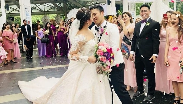 Featured image for This Viral Couple Did Something Awkward And Memorable During Their Wedding