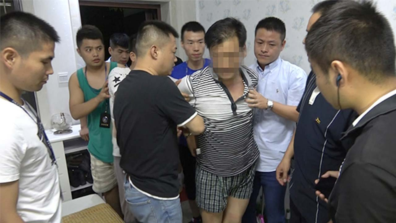 Liu Yongbiao in custody