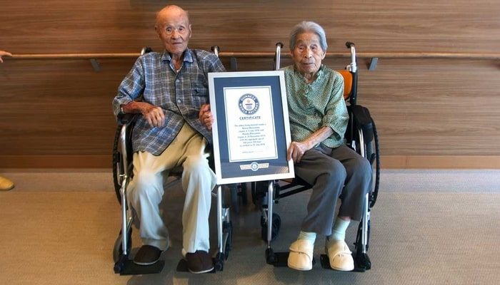Featured image for Japanese Couple Deemed World's Oldest By Guinness Book