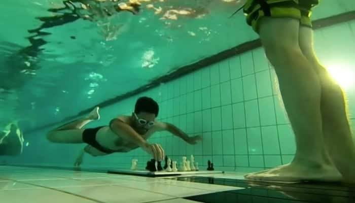 Featured image for Chess, Underwater? Watch The World Dive Chess Championships [Video]