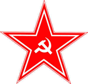 russian hacking soviet russia hammer and sickle
