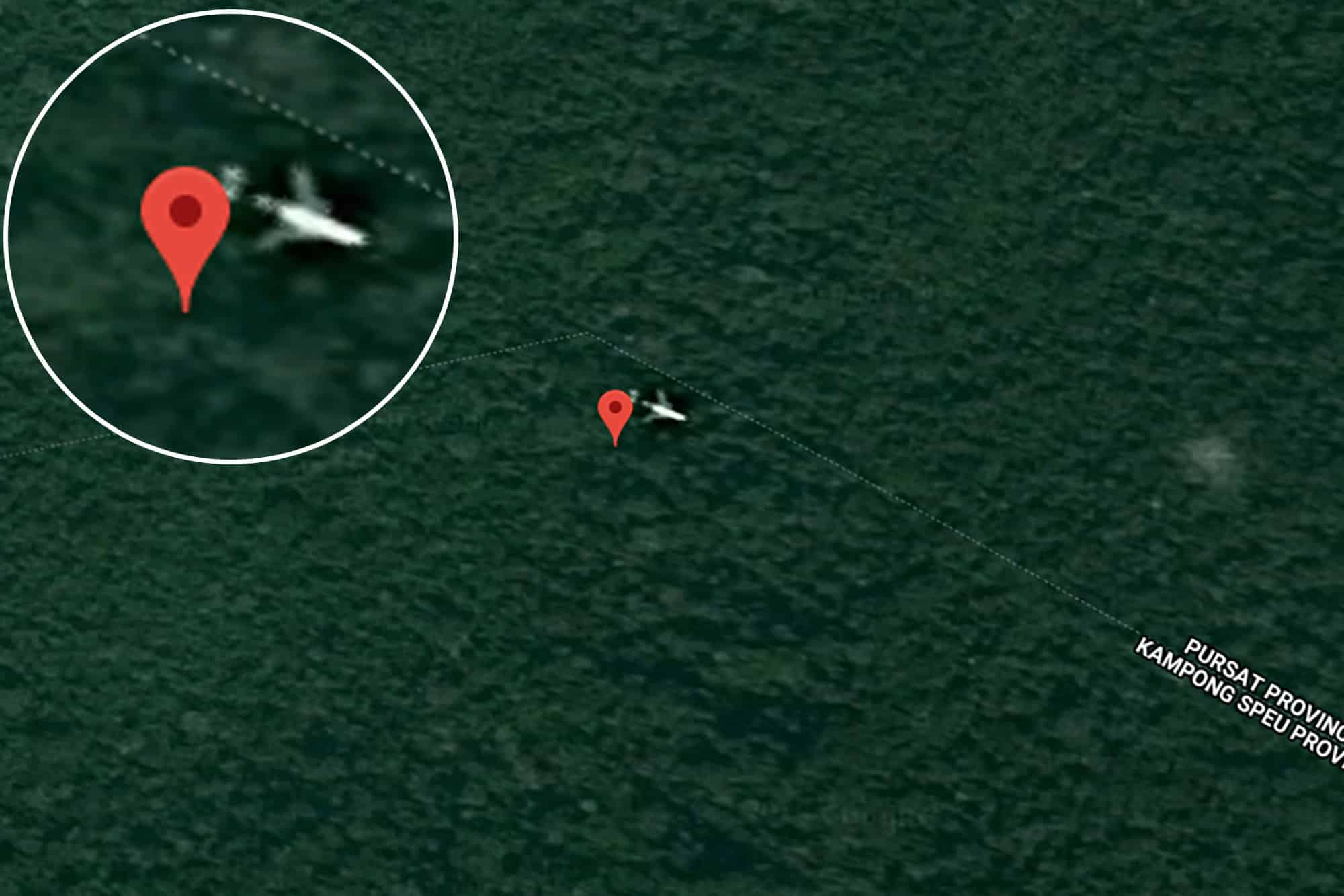 A Tech Expert Claims He's Found Missing Flight MH370 - on Google Maps