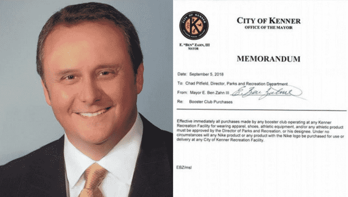 Louisiana Mayor Bans Nike Products From His City's Recreation Facilities