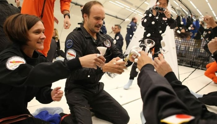 Featured image for Turn Up! Company Reveals Champagne Designed For Drinking In Space