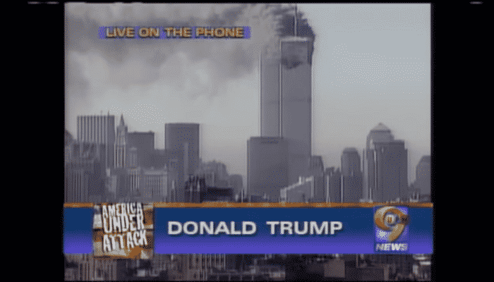 Trump Caught Bragging About How Trump Tower is the Tallest Building in Manhatten on 9/11