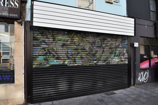 Featured image for Someone Accidentally Painted Over An Early Banksy Mural