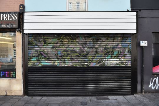 New Shop-Owners Accidentally Paint Over One of Banksy's Earliest Murals