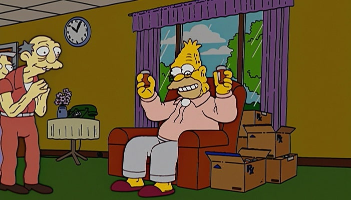 The Simpsons Predicted Canada's Legalisation of Marijuana - 13 Years Ago