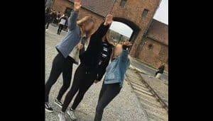 Ignorant Teens Cause Outrage After Conducting Nazi Salutes at Auschwitz