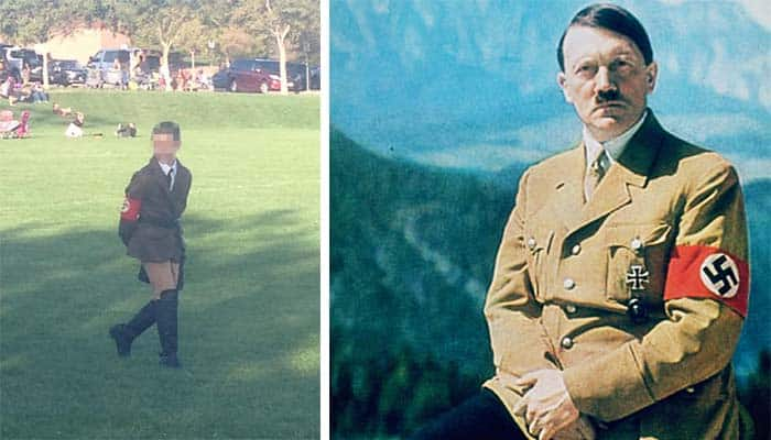 Mom Claims She Didn't Mean to Offend With Son's Nazi Costume