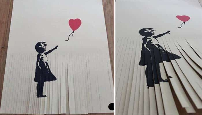 Featured image for $50,000 Banksy Print Now Worthless After Owner Shreds it to Increase Value