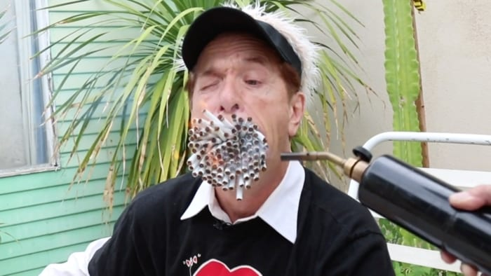 Featured image for Man With 'Big Mouth' Smokes More Than 150 Cigarettes At Once