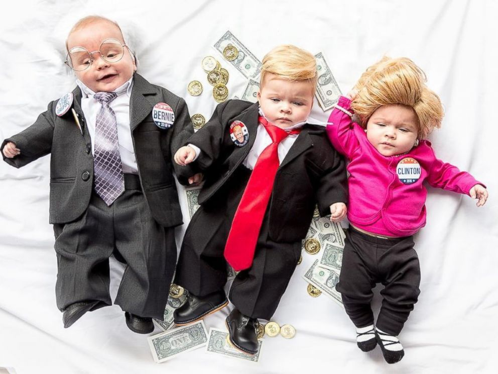Featured image for Adorable Babies Dressed As Politicians For Halloween
