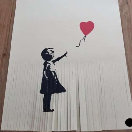 $50,000 Banksy Print Now Worthless After Owner Shreds it to Increase Value