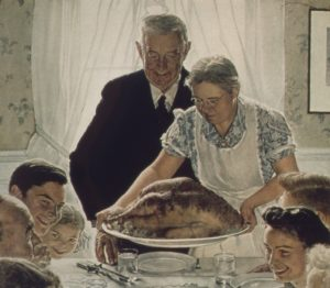 """Freedom From Want,"" by Norman Rockwell/Wikimedia Commons"