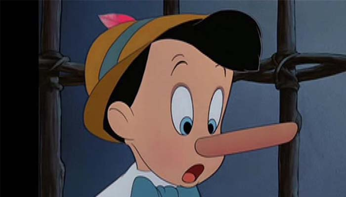 Pinocchio Got it Wrong - A New Study Shows Your Nose Actually Shrinks When You Lie