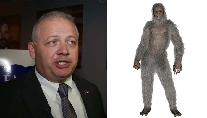 "Republican ""Devotee of Bigfoot Erotica"" Won a Seat in the Midterms"