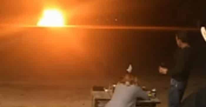 Featured image for Woman Blows Up Wedding Dress To Commemorate Divorce [Video]