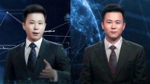 virtual news anchor