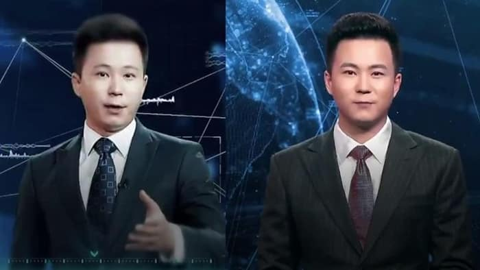Featured image for An 'Artificial Intelligence Virtual News Anchor,' Thanks China! [Video]