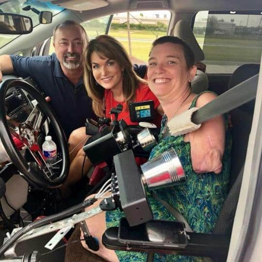 Quadruple Amputee Who Lost Limbs to Flesh-Eating Bug Passes Driving Test