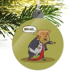 Anti-Trump Christmas Ornaments