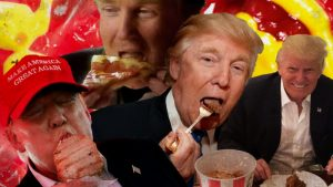 Photos Of Trump Eating
