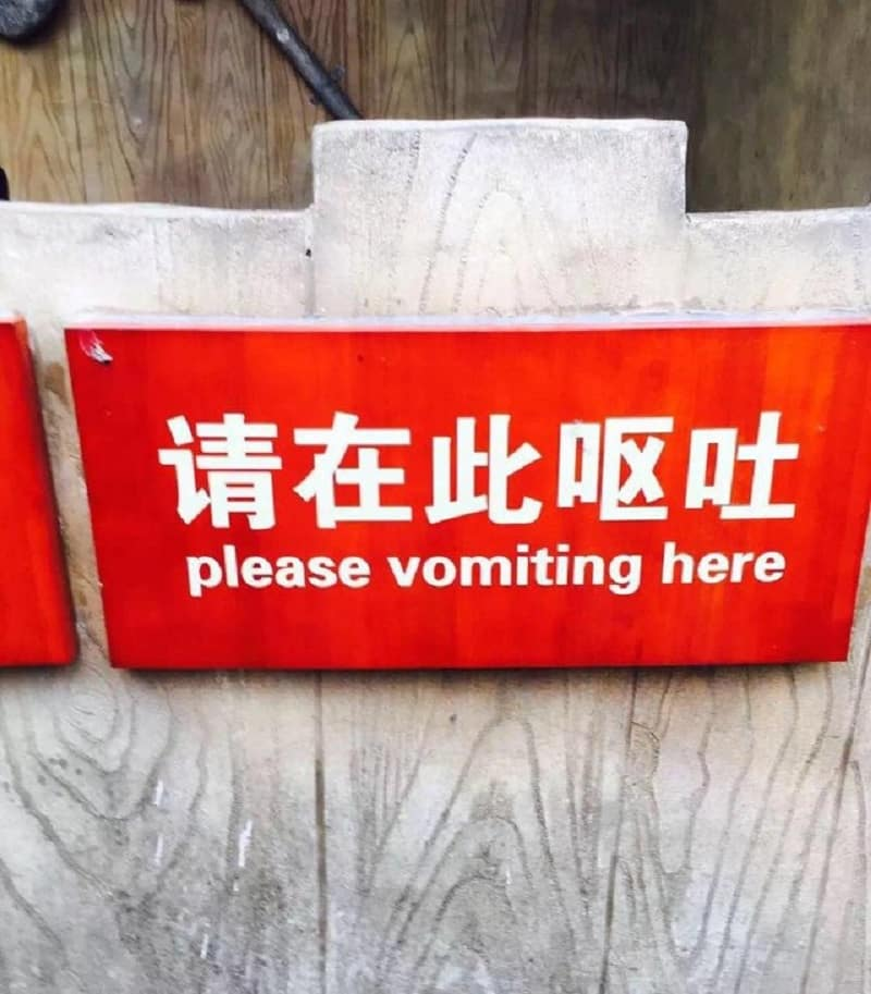 mistranslated english