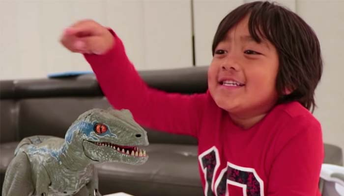 A Seven-Year-Old is Now YouTube's Highest Earning Star