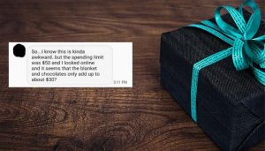 """Woman Demands $120 Tablet From Secret Santa Who """"Didn't Spend Enough on Her"""""""