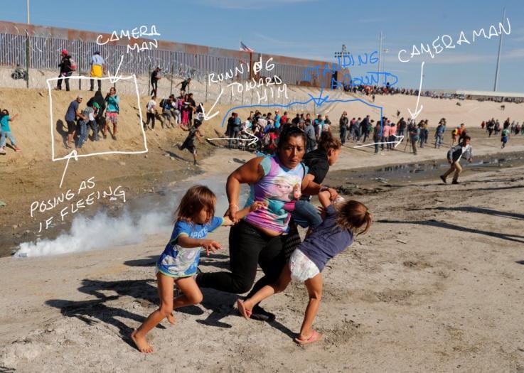 Migrant Photos Fake