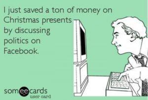 political memes christmas