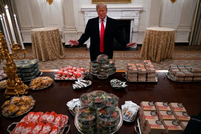 """Trump's """"hamberders"""" tweet"""