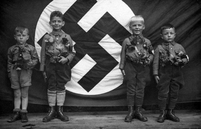 human-swastika