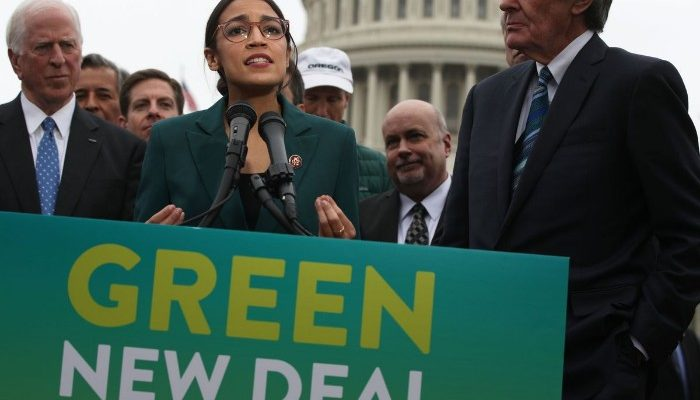 Green New Deal fake news