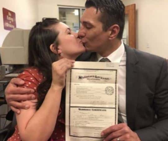 First Cousins Who Fell in Love as Kids Travel Hundreds of Miles to Get Married