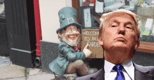 Donald Trump is a leprechaun