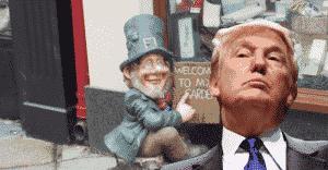 Donald Trump is a leprechaun