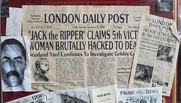 Clue to identity of Jack the Ripper found on old shawl