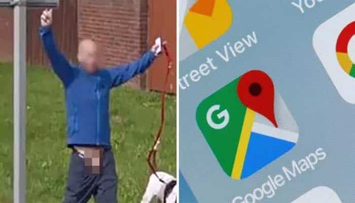 Awkward Google Maps Blunder As Wrong Body Part is Blurred Out