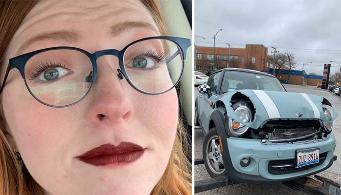 Woman Commends Make Up Brand After Lipstick Stays Perfect in Car Crash