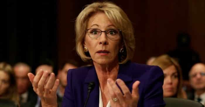 Betsy Devos Is Just Plain Wrong >> 6 Illogical Statements Made By Betsy Devos That Will Piss You Off