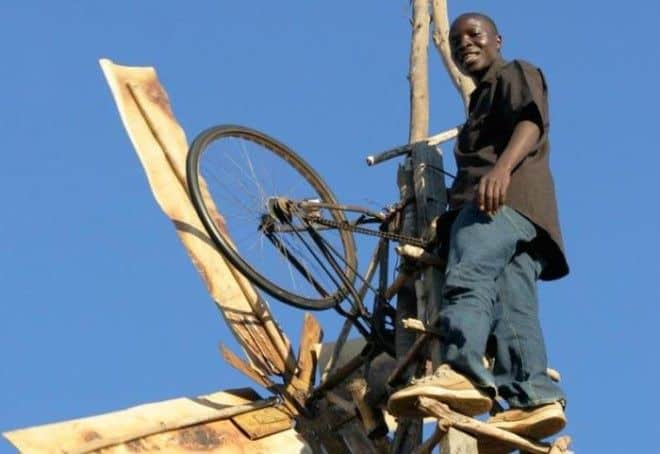 Image result for African Teen Builds Windmills from Junk and Supplies His Village with Electricity