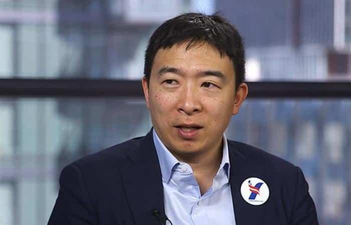 Andrew Yang Marijuana