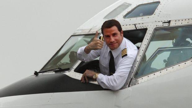 John Travolta private plane